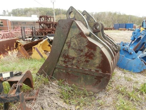 Hensley 4 1/4 yd Large Backhoe Bucket