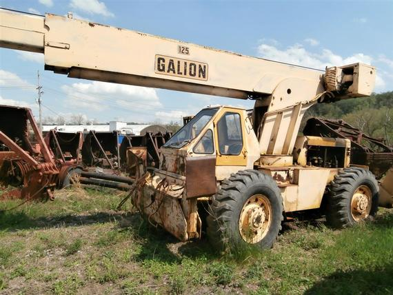 Galion RT-125 Crane