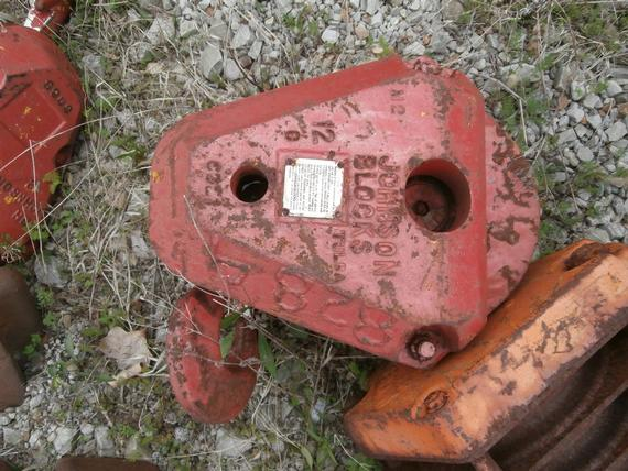 Johnson 15 Ton Single Sheave Hook Block