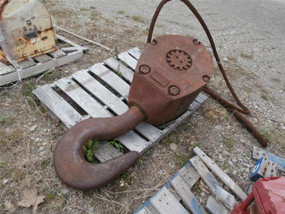 McKissick 75 Ton 4 Sheave Hook Block