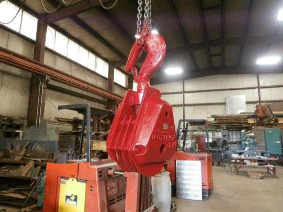 Johnson 35 Ton 3 Sheave Hook Block