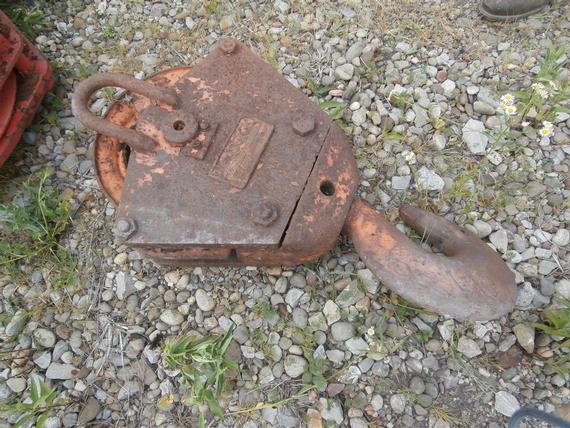 McKissick 25 Ton 2 Sheave Hook Block