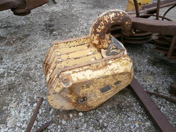 Johnson 25 Ton 4 Sheave Hook Block
