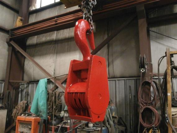 35 Ton 5 Sheave Hook Block