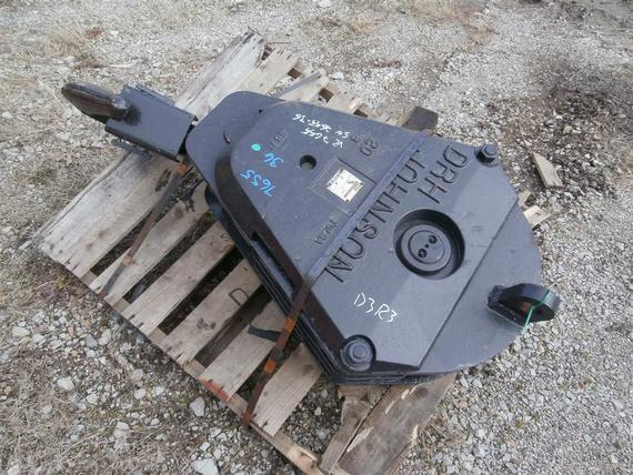 Johnson 40 Ton 3 Sheave Hook Block
