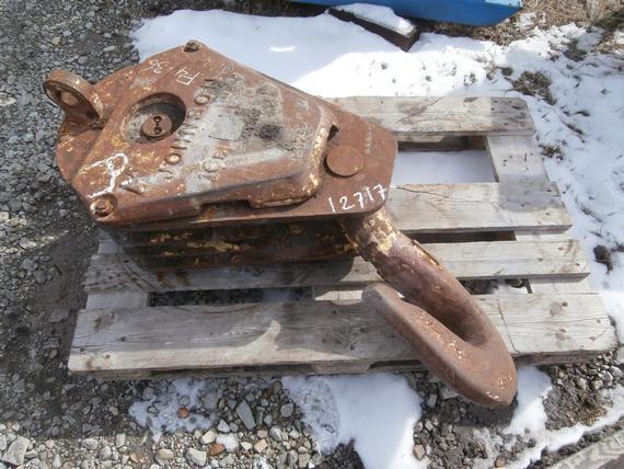 Johnson 45 Ton 3 Sheave Hook Block