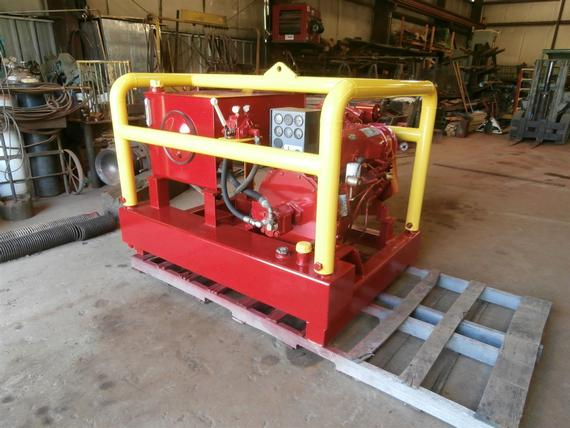 Pileco A1 Hydraulic Power Pack Pile Driving Attachment