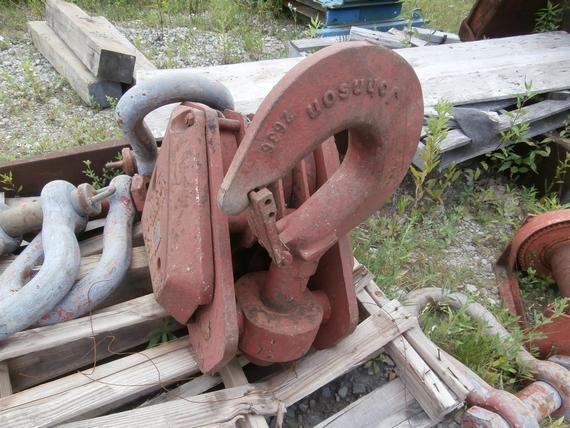 Johnson 60 Ton 4 Sheave Hook Block