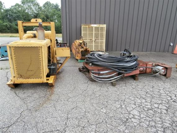 MKT V-5 Vibratory Pile Driver / Extractor